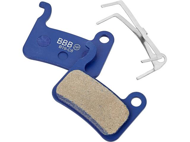 BBB BBS-54 Plaquettes de frein à disque Shimano, blue